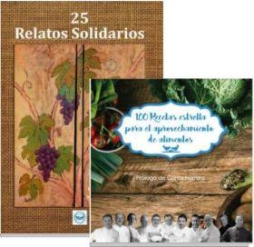 PACK 25 RELATOS SOLIDARIOS Y 100 RECETAS ESTRELLA - BANCO DE ALIMENTOS
