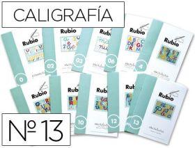 RUBIO - CUADERNO ESCRITURA 13
