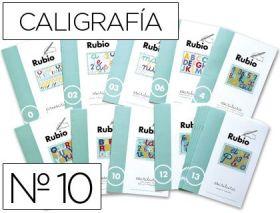 RUBIO - CUADERNO ESCRITURA 10
