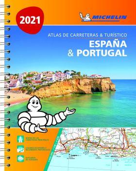 ATLAS ESPAÑA & PORTUGAL 2021 (A4)
