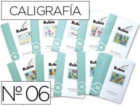 RUBIO - CUADERNO ESCRITURA 06