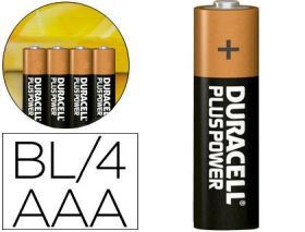 PILAS DURACELL AAA PLUS POWER