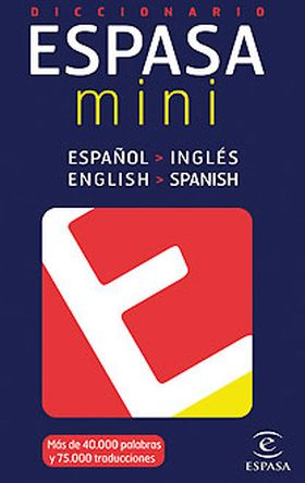 DICCIONARIO MINI INGLES