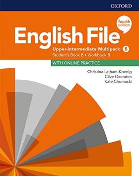 ENGLISH FILE B2 2 STUDENTS BOOK AND WORKBOOK WITH