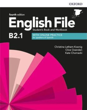 ENGLISH FILE B2 1 STUDENTS BOOK AND WORKBOOK WITH