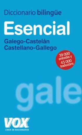 DICCIONARIO GALLEGO-CASTELLANO BILINGÜE ESENCIAL