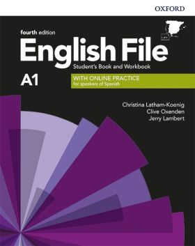 ENGLISH FILE A1 BEGINNER SB+WB W/KEY PK 4ED