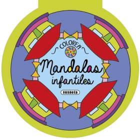 COLOREA MANDALAS INFANTILES (4 TITULOS)