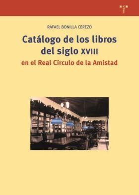CATALOGO DE LOS LIBROS DEL SIGLO XVIII EN EL REAL