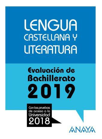 LENGUA CASTELLANA Y LITERATURA . EVALUACION DE BAC