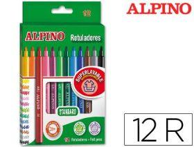 12 ROTULADORES ALPINO STANDARD ALPINO - MASATS
