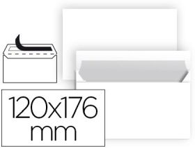 (25) PAQUETE SOBRES 120X176M C. SUR - LIDERPAPEL