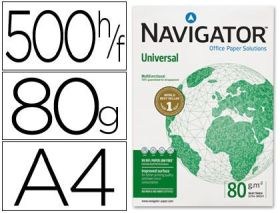 (500) NAVIGATOR A4 UNIVERSAL 80 GRAMOS