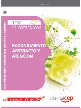 TEST PSICOTECNICOS RAZONAMIENTO ABSTRACTO Y ATENCI