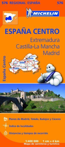 EXTREMADURA CASTILLA LA MANCHA MADRID 576