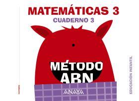 MATEMÁTICAS ABN. NIVEL 3. CUADERNO 3.
