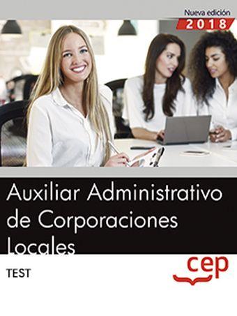 AUXILIAR ADMINISTRATIVO DE CORPORACIONES LOCALES.