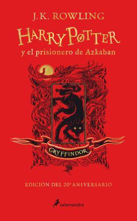 HARRY POTTER Y EL PRISIONERO DE AZKABAN GRYFFINDOR