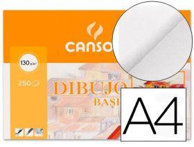 (10) LAMINAS A4 DIBUJO BASIK SIN RECUADRO 130 GRAMOS GUARRO - CANSON