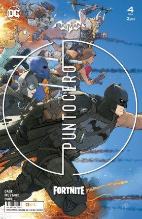 BATMAN FORTNITE: PUNTO CERO NUM. 04 DE 6