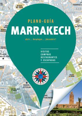 MARRAKECH - PLANO GUIA 2018