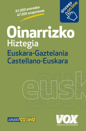OINARRIZKO HIZTEGIA EUSKARA-GAZTELANIA / CASTELLAN