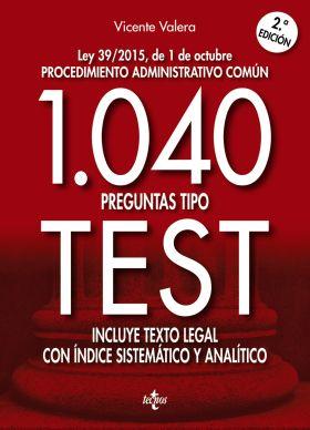 LPAC 1040 PREGUNTAS TIPO TEST