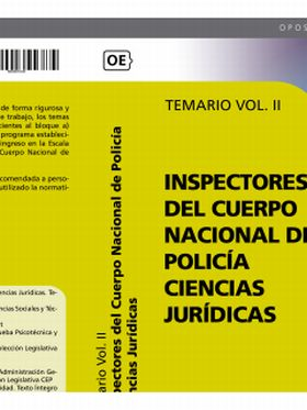 INSPECTORES DEL CUERPO NACIONAL DE POLICIA CIENCIA