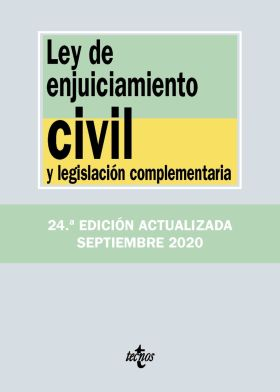 LEY DE ENJUICIAMIENTO CIVIL Y LEGISLACION COMPLEME